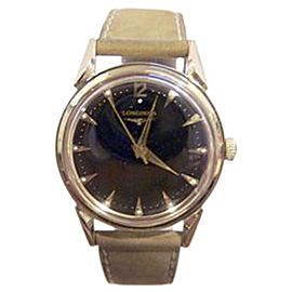 Longines 14K Yellow Gold Hand Winding Vintage 33.7mm Mens Watch