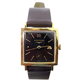 Longines Vermeil Gold Plated Hand Winding Vintage 27.5mm Unisex Watch