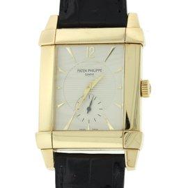 Patek Philippe Gondolo 5111J 18K Yellow Gold 32mm Mens Watch