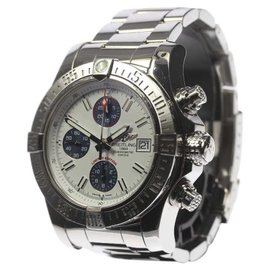 Breitling Avenger II A133813K/A760 / A13381 Stainless Steel Chronograph 43mm Mens Watch