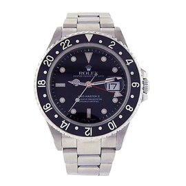 Rolex GMT Master II 16710 Stainless Steel 40mm Mens Watch