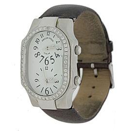 Philip Stein Stainless Steel Diamond Sapphire 25mm Womens Watch