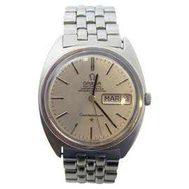 Omega Constellation Stainless Steel Automatic Vintage 33mm Mens Watch
