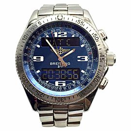 Breitling B-1 Chronograph Stainless Steel Automatic 44.5mm Mens Watch