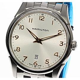 Hamilton Jazzmaster Thinline H38511113 Stainless Steel Silver Dial Quartz 42mm Mens Watch