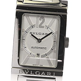 Bulgari Rettangolo RT45S Stainless Steel Automatic 26mm Mens Watch