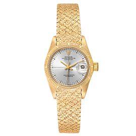 Rolex President Datejust Yellow Gold Ladies Watch 6900