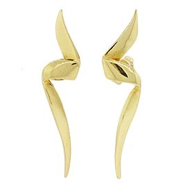 Vintage Tiffany & Co. Paloma Picasso 18K Yellow Gold Earrings