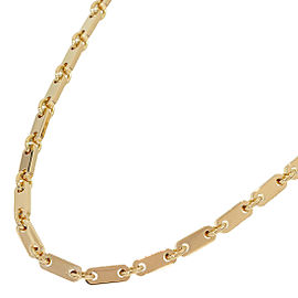 Cartier Figaro Pendant 18K Yellow Gold Necklace