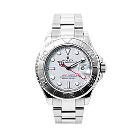 Rolex Yachtmaster 16622 Stainless Steel/Platinum Automatic 40mm Mens Watch