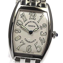 Franck Muller Tonneau Carbex 1752QZ Stainless Quartz 25mm Womens Watch
