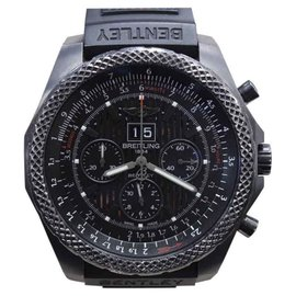 Breitling Bentley M44364 Limited Edition Stainless Steel & Rubber 48mm Mens Watch