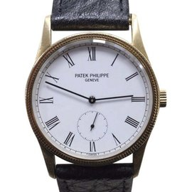 Patek Philippe Calatrava 3796 18K Yellow Gold 31mm Unisex Watch