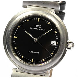 IWC Da Vinci SL IW352806 Stainless Steel / Leather Automatic 36mm Mens Watch