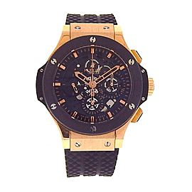 Hublot Big Bang 310.PM.1180.RX 18K Rose Gold Automatic 44mm Mens Watch