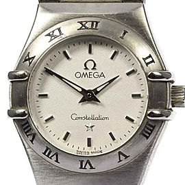 Omega Constellation 1562.30 Stainless Steel Silver Dial Quartz 22mm Womens Watch
