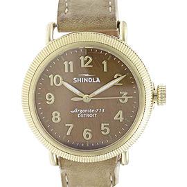 Shinola The Runwell Coin Edge 10000294 38mm Womens Watch