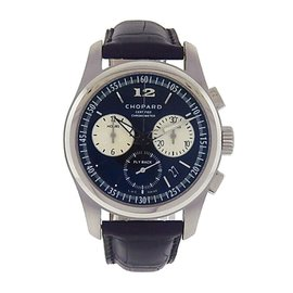 Chopard L.U.C. Chronograph 168520-3001 Fly Back Stainless Steel Automatic 42mm Mens Watch