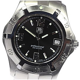 Tag Heuer Professional WN1110 Stainless Steel Quartz 38mm Men's Watch