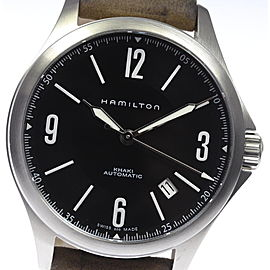 Hamilton Khaki Aviation H765650 Stainless Steel & Leather Automatic 38mm Men's Watch