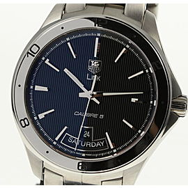 Tag Heuer Link Calibre 5 WAT2010.BA0951 Stainless Steel Automatic 42mm Mens Watch