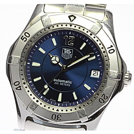 Tag Heuer WK2117-1 Stainless Steel Automatic Mens Watch