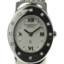 Philippe Charriol AZURE Stainless Steel with Silver Dial Quartz 23mm Womens Watch