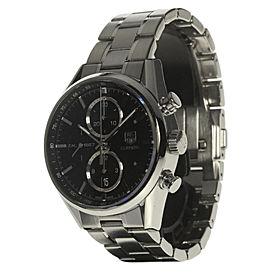 Tag Heuer Carrera CAR2110-4 Stainless Steel Automatic 41mm Mens Watch