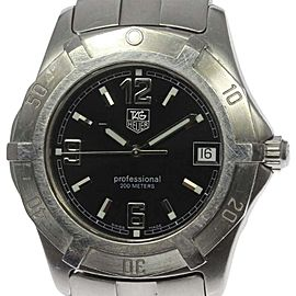 Tag Heuer WN1110 Stainless Steel Quartz 38mm Mens Watch