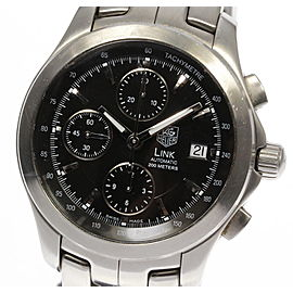Tag Heuer Link CJF2110 Stainless Steel Automatic 41mm Mens Watch