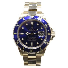 Rolex Submariner 16808 18K Yellow Gold Automatic 40mm Mens Watch