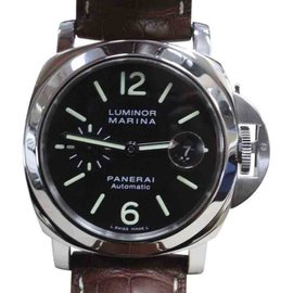 Panerai Luminor Marina PAM104 / PAM00104 Stainless Steel Automatic 44mm Mens Watch