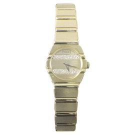 Piaget Polo 841 C701 18K Yellow Gold with Diamond Quartz 20mm Womens Watch