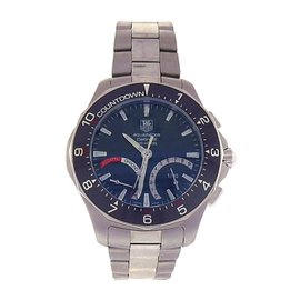 Tag Heuer Aquaracer CAF7111.BA0803 Stainless Steel Mechanical Chrono 41mm Mens Watch