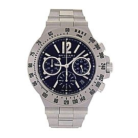 Bulgari Diagono CH40STA Chronograph Stainless Steel Automatic 40mm Mens Watch
