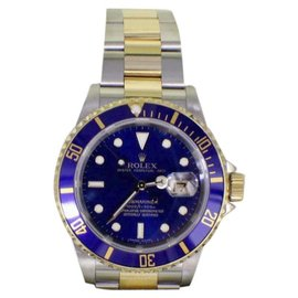 Rolex Submariner 16613 18K Yellow Gold & Stainless Steel Automatic 40mm Mens Watch 2007