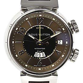 Louis Vuitton Tamnour Reveil Q1151 Stainless Steel Automatic 39mm Mens Watch