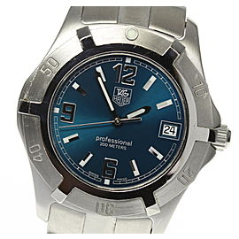 Tag Heuer WN1115 Stainless Steel Quartz 38mm Mens Watch