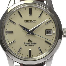 Seiko SBGR061/9S65-00D0 Stainless Steel & Leather Automatic 39mm Mens Watch