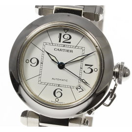 Cartier Pasha C W31074M7 Stainless Steel Automatic 35mm Unisex Watch