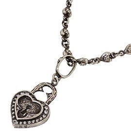 Loree Rodkin Sterling Silver Zircon Necklace