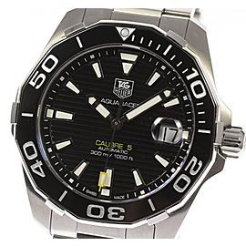 Tag Heuer Aquaracer CAL.5 WAY211A Stainless Steel 41mm Automatic Mens Watch
