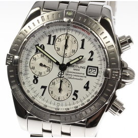 Breitling Chronomat Evolution A13356 Stainless Steel 43mm Automatic Mens Watch