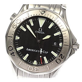 Omega Seamaster 2533.50 Stainless Steel with Black Dial Automatic 41mm Mens Watch