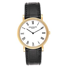 Patek Philippe Calatrava Yellow Gold Automatic Mens Watch 5120