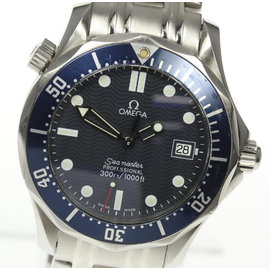 Omega Seamaster Professional 300 2561.80 Stainless Steel Quartz 36mm Unisex Watch