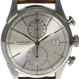 Hamilton Jazzmaster H324160 Stainless Steel Automatic 48mm Mens Watch