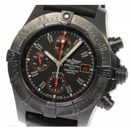 Breitling Avenger Skyland M13380 Stainless Steel with Black Dial Automatic 44mm Mens Watch