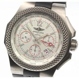 Breitling Bentley EB0433 Titanium / Rubber Automatic 45mm Mens Watch