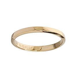 Van Cleef & Arpels 18K Rose Gold Band Ring Size 8.75
